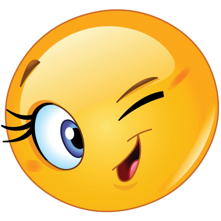 Cute Wink   Facebook Symbols And Chat Emoticons