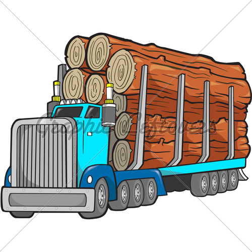 Log Truck Clipart | www.imgkid.com - The Image Kid Has It!
