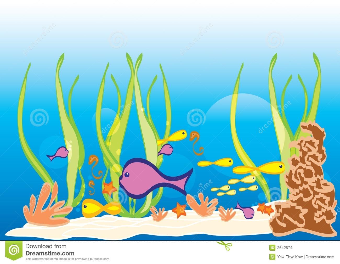 ocean floor clipart - photo #47
