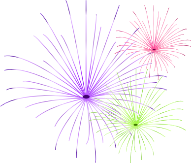 New Year's Fireworks Clipart - Clipart Kid