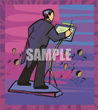 Royalty Free Orchestra Clip Art Entertainment Clipart