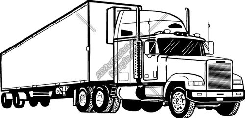 Truck Coloring Pages also Pickup Truck Clipart 5435 further Post semi Dump Truck Vector 141635 besides Semi Truck Clip Art moreover Air pollution for kids clipart. on kenworth big rig truck
