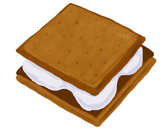 S'mores Clipart - Clipart Kid