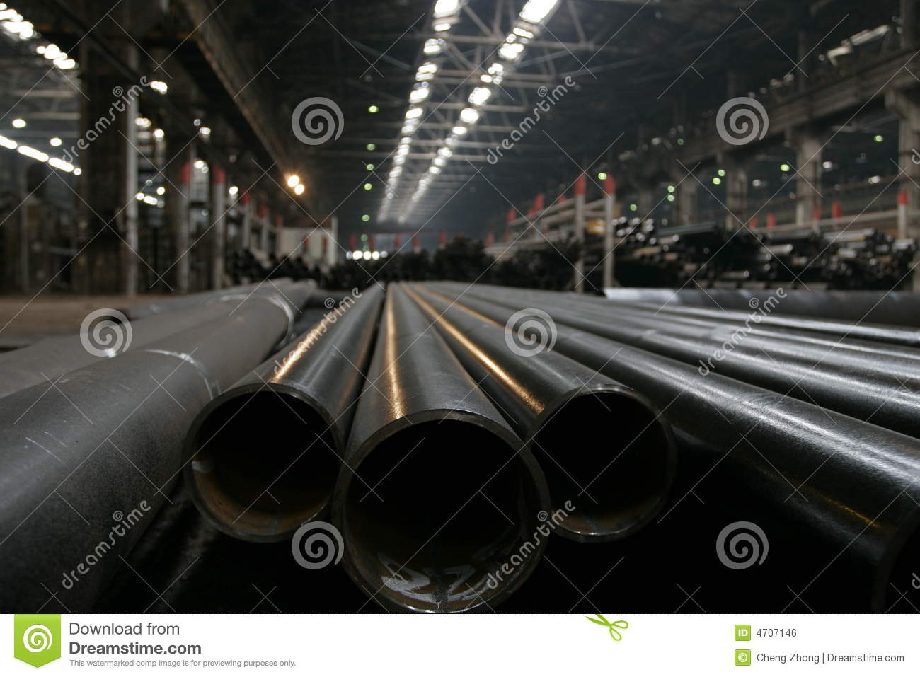 Steel Mill Royalty Free Stock Image   Image  4707146