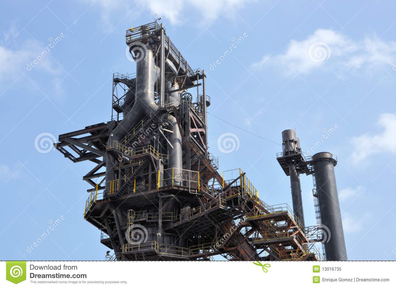 Steel Mill Royalty Free Stock Photo   Image  13016735