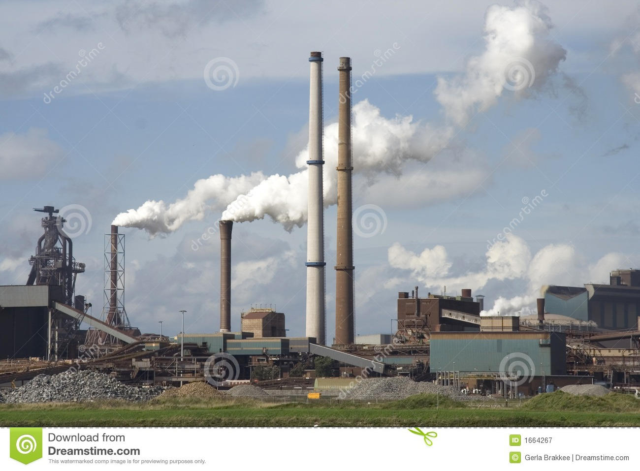 Steel Mill Royalty Free Stock Photography   Image  1664267