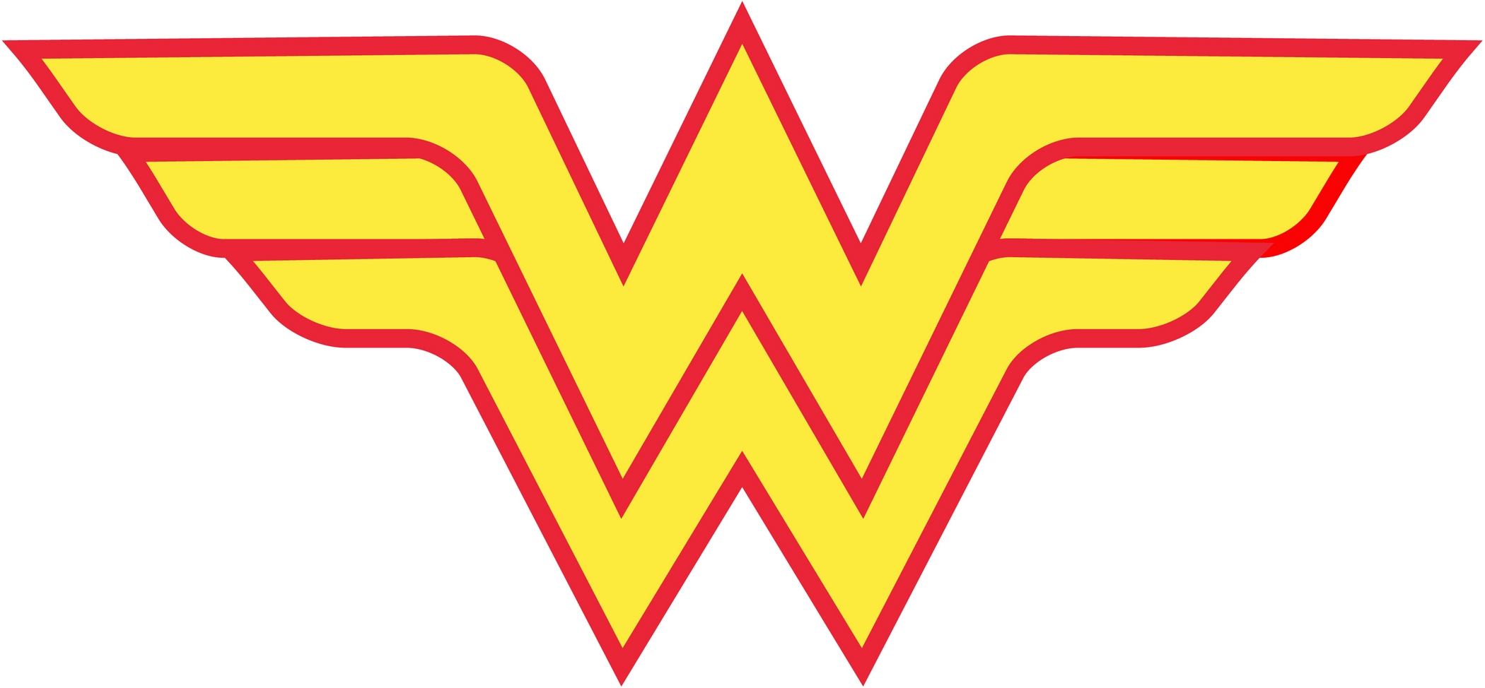 Wonder Woman Logo Clipart - Clipart Kid