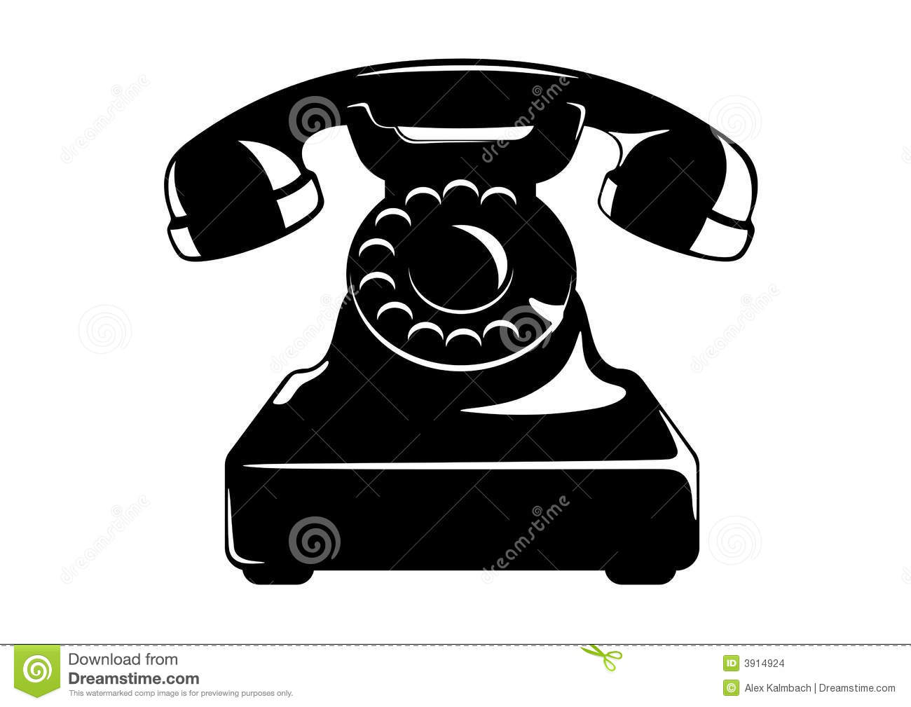 vintage telephone clipart - photo #33