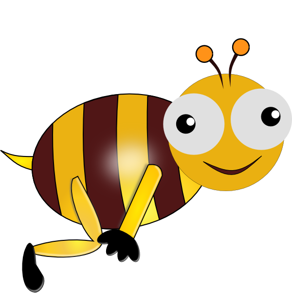 Animated Bee Clipart - Clipart Kid