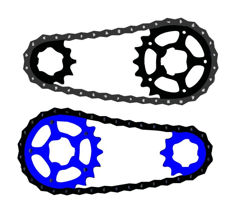Bicycle Chain Vector By Kingston123   Download Bicycle Chain Vector