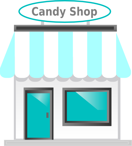 Candy store clipart clipart suggest for Online art stores us