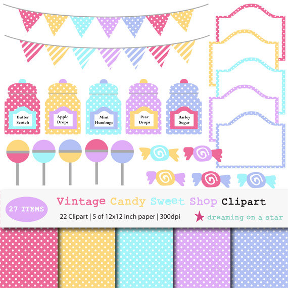 Candy Store Clipart Sale Candy Clip Art