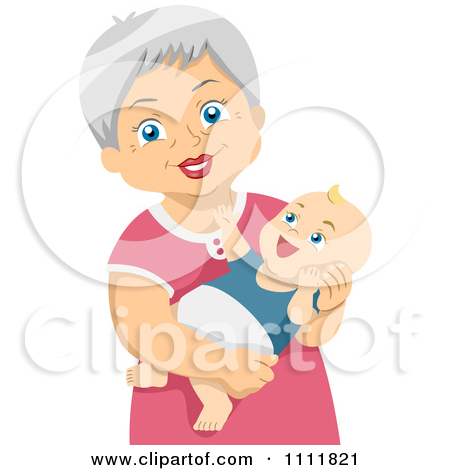 Cooking Grandma And Granddaughter Clipart - Clipart Kid