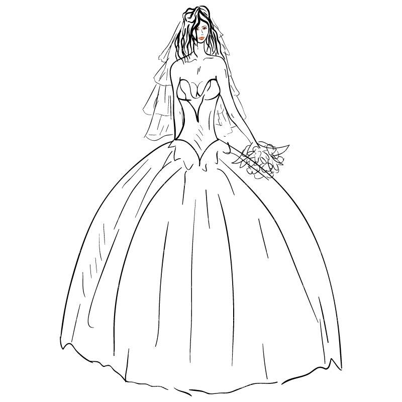 bride20clip20art dress clip art. bride dress silhouette clip ...