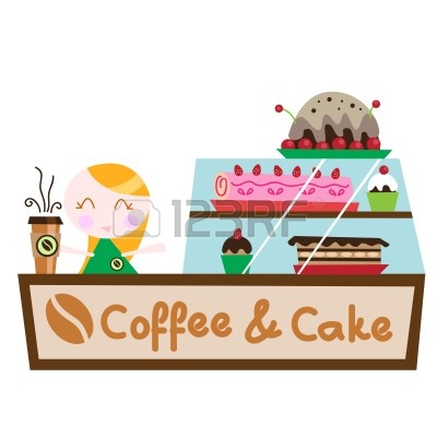 Clip Art Cake And Coffee : Coffee Cake Clipart - Clipart Suggest