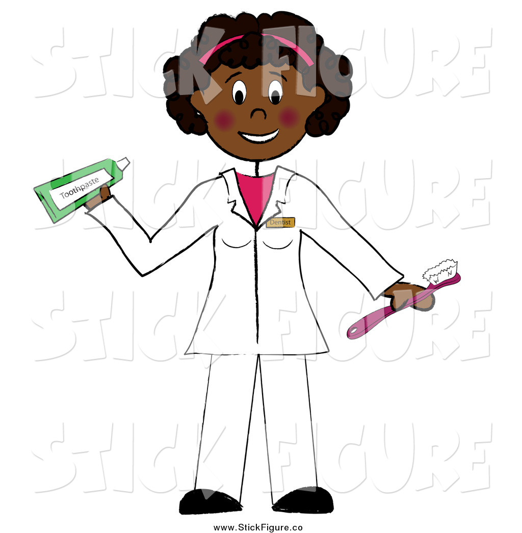 Dentist Holding A Toothbrush And Toothpaste By Pams Clipart    159