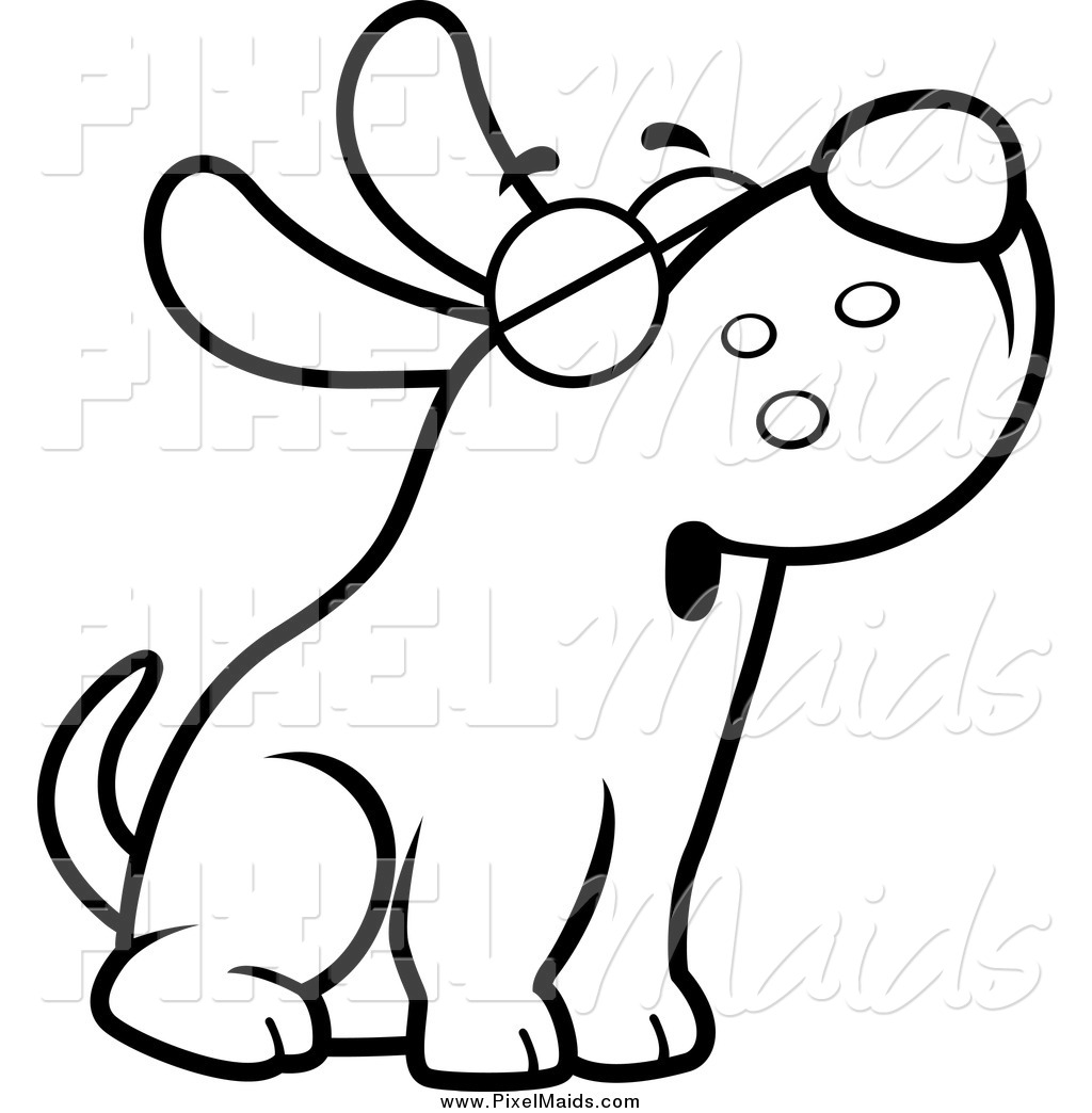 clip art black and white dogs 3 clipart clipart suggest free black and white hot dog clipart Spider Clip Art Black and White