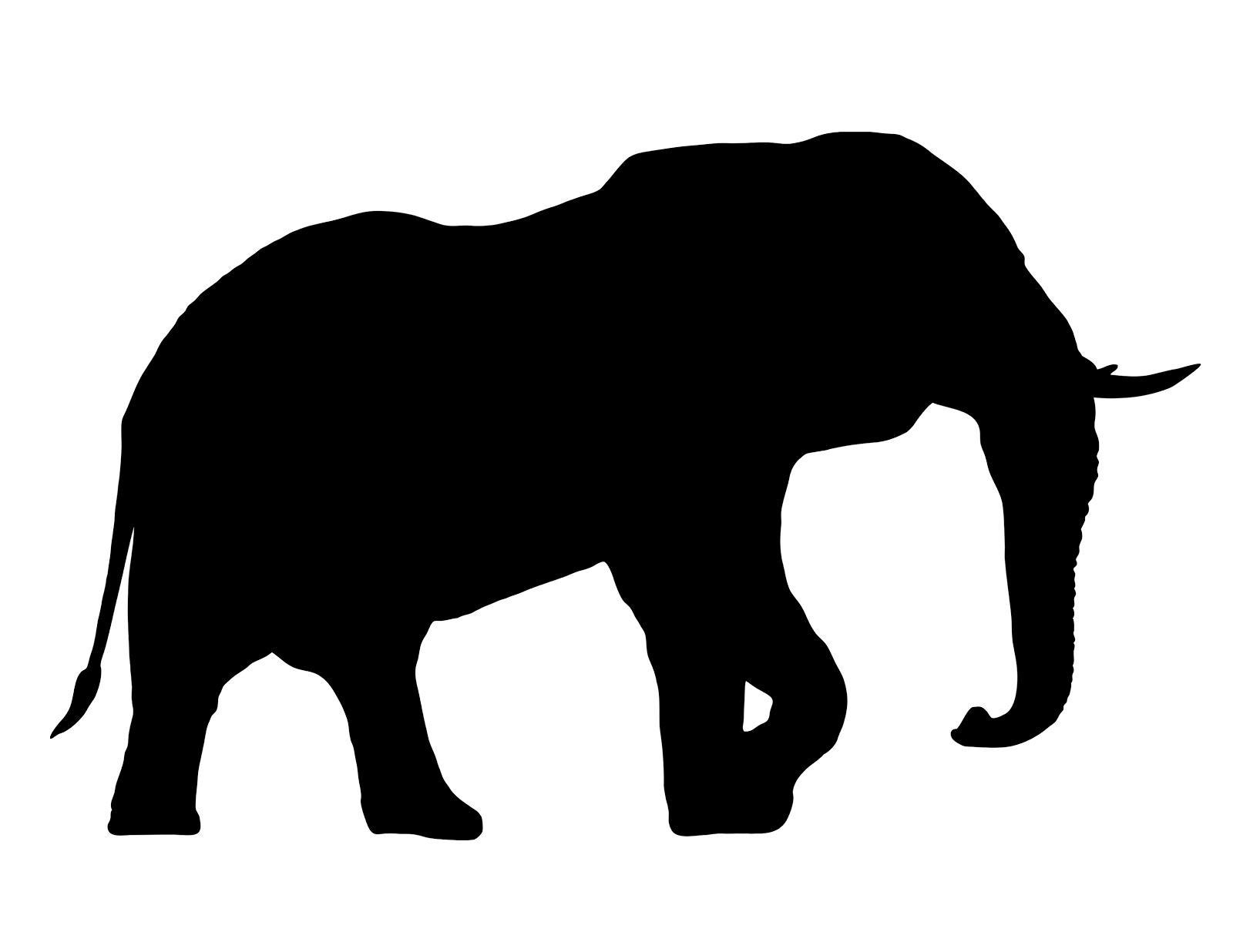 African Elephant Head Stock Vector 87000200 - Shutterstock