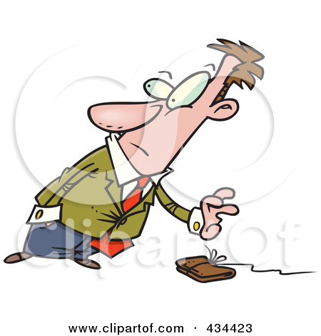 empty wallet black and white clipart clipart kid