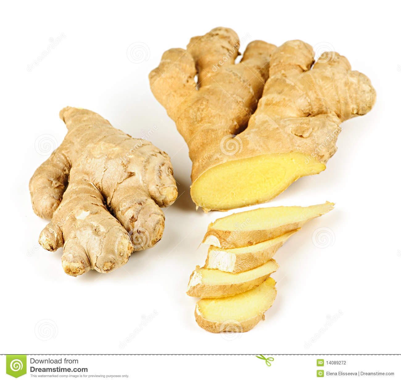Ginger Root Stock Photography   Image  14089272