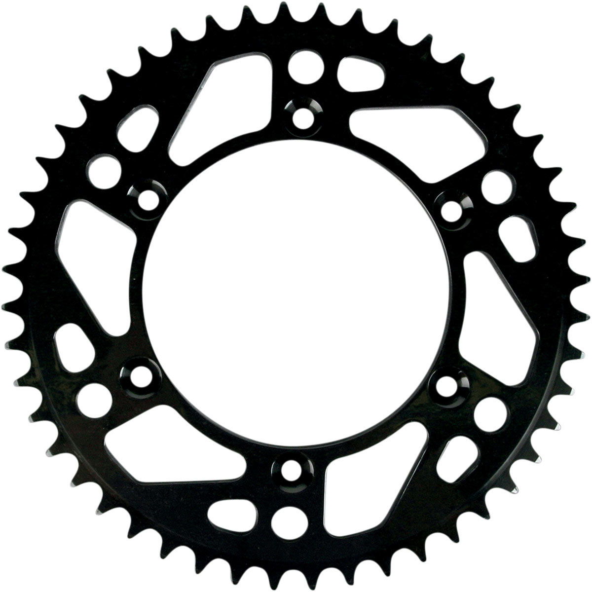 Moose Racing Aluminum Rear Sprocket  Black  For Wr450f 07 13
