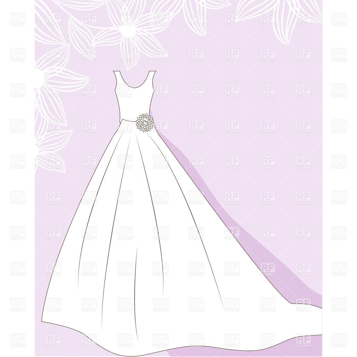 clip art wedding dress clipart clipart suggest