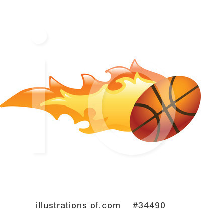 Basketball On Fire Clipart Image Search Results