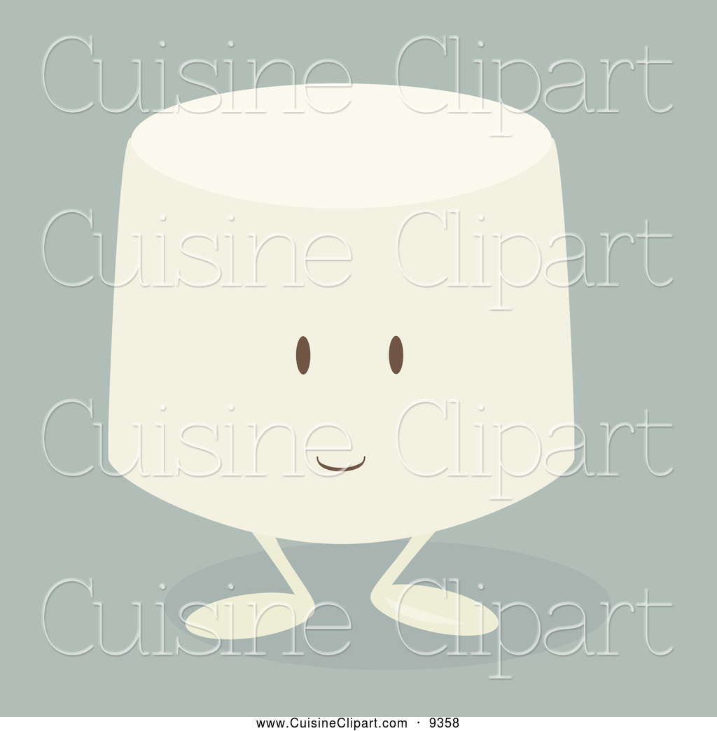 Clipart Happy Marshmallow Clipart One Marshmallow Clipart Marshmallow