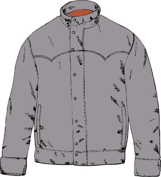 Clothing Jacket Clip Art At Clker Com   Vector Clip Art Online