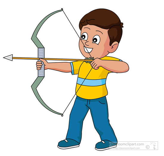 Archery Clipart - Clipart Kid