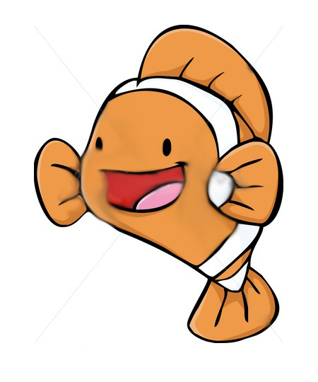 Happy fish clipart clipart suggest for Happy fish swimming