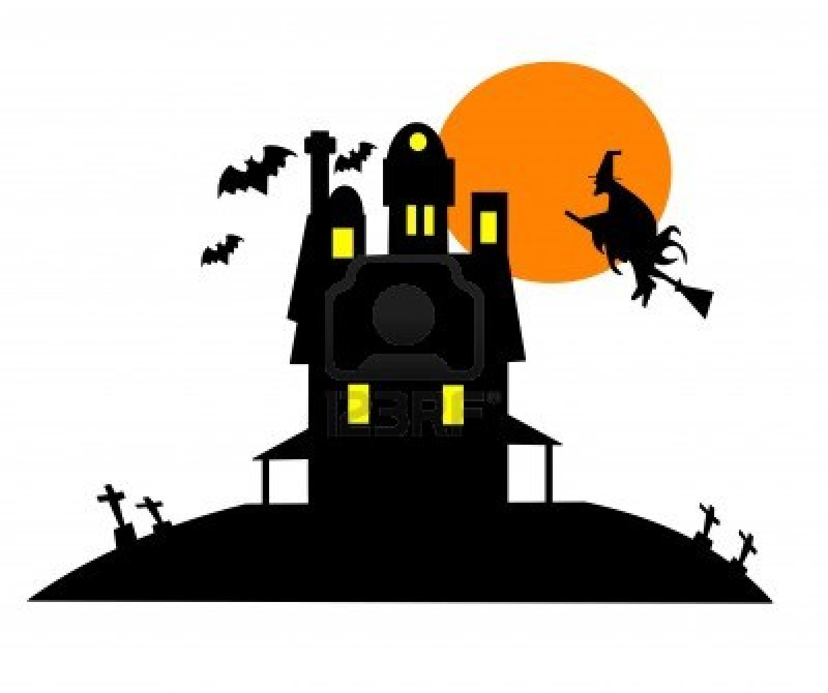 Clip Art Haunted House Clip Art haunted house clipart kid go back images for halloween clip art