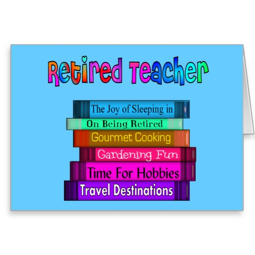 Teacher Retirement Clipart - Clipart Kid