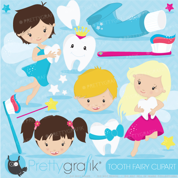 Tooth Fairy Clipart - Clipart Kid