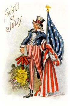 Vintage Patriotic Clipart - Clipart Kid