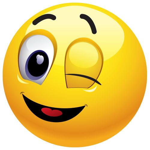 Winking Emoticon Send This Wink In A Chat Message Or Post To An Fb