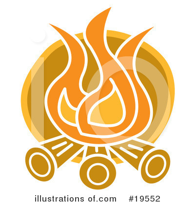Www Illustrationsof Com 19552 Royalty Free Fire Clipart Illustration