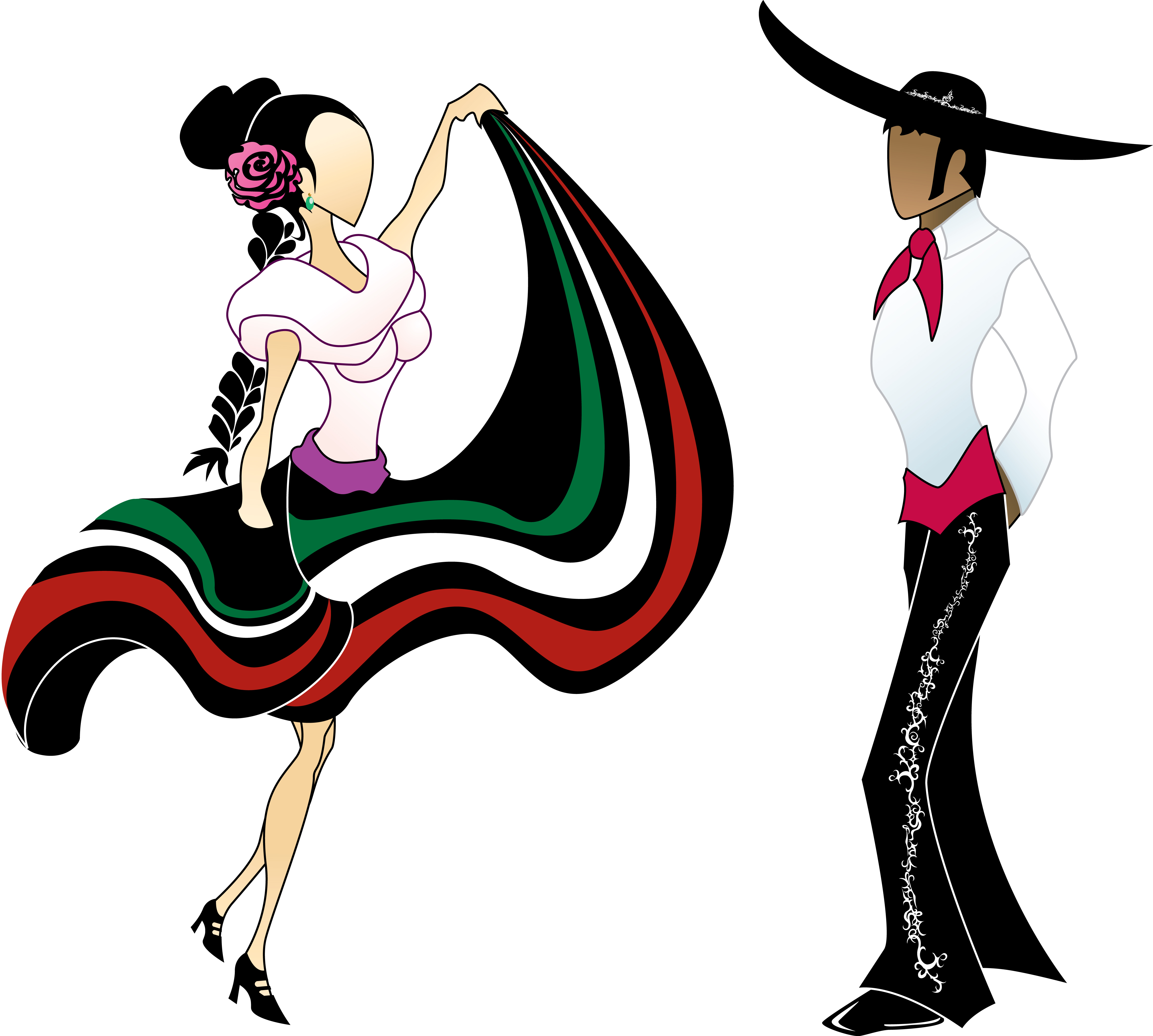 Back   Gallery For   Mexican Female Dancer Clip Art