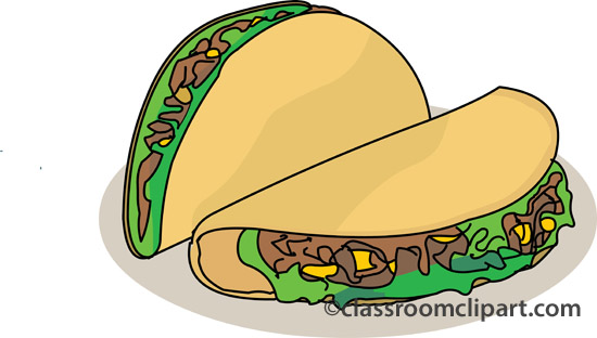 Back   Gallery For   Soft Taco Clip Art