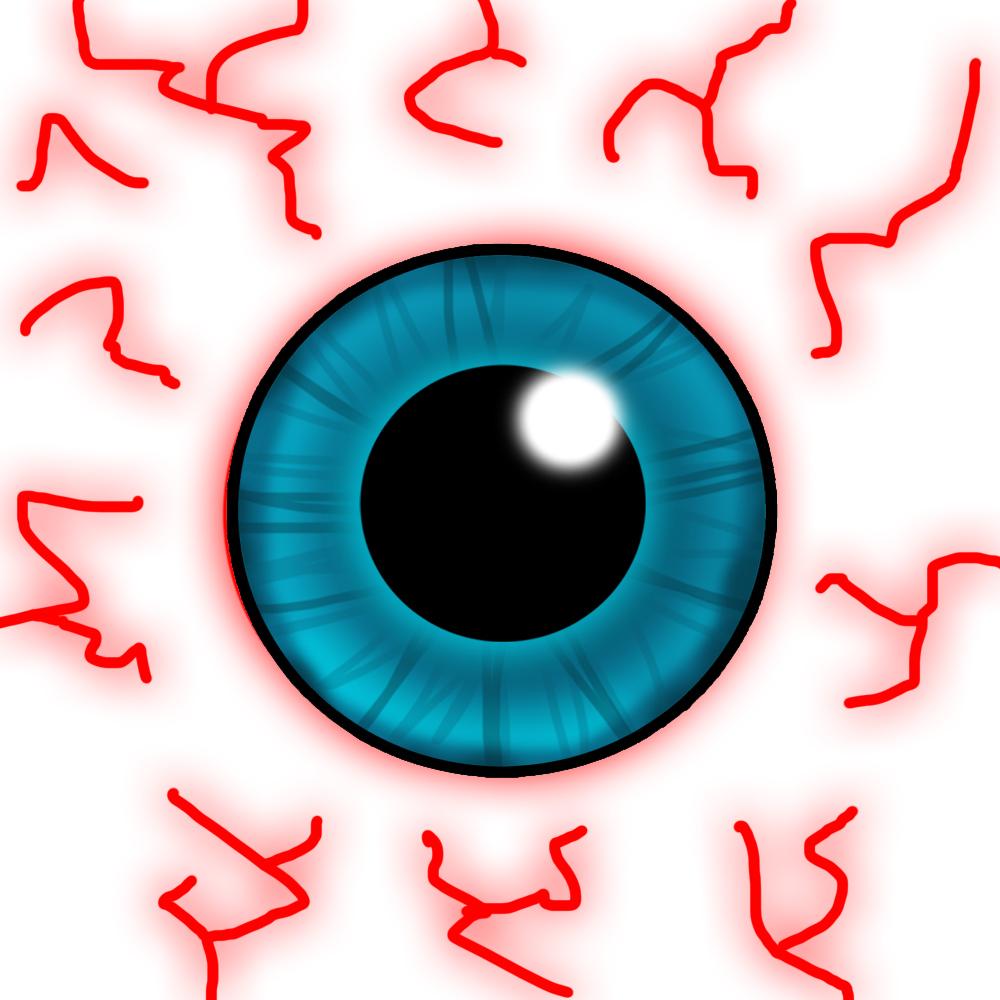 Bloodshot Eyes Clipart - Clipart Kid