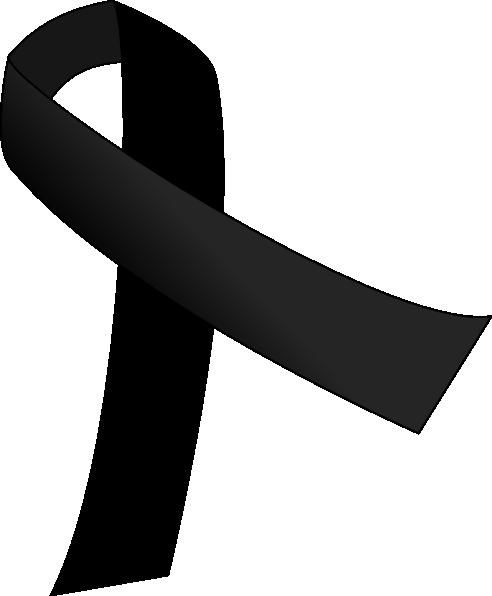 Black Ribbon Clipart - Clipart Suggest