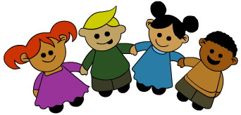 Cartoon Children Holding Hands   Cliparts Co
