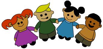 Cartoon Holding Hands Clipart - Clipart Kid