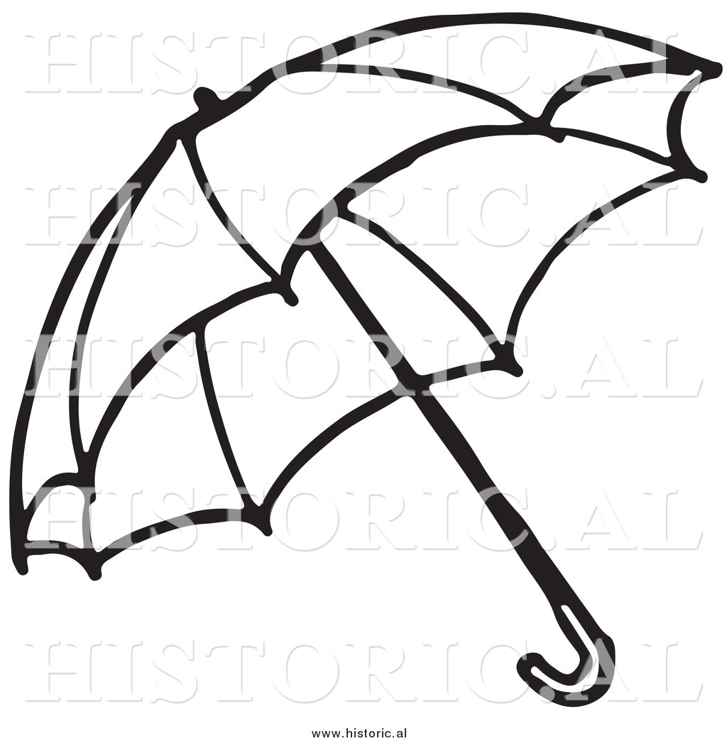 Line Art Umbrella : Umbrella outline clipart suggest