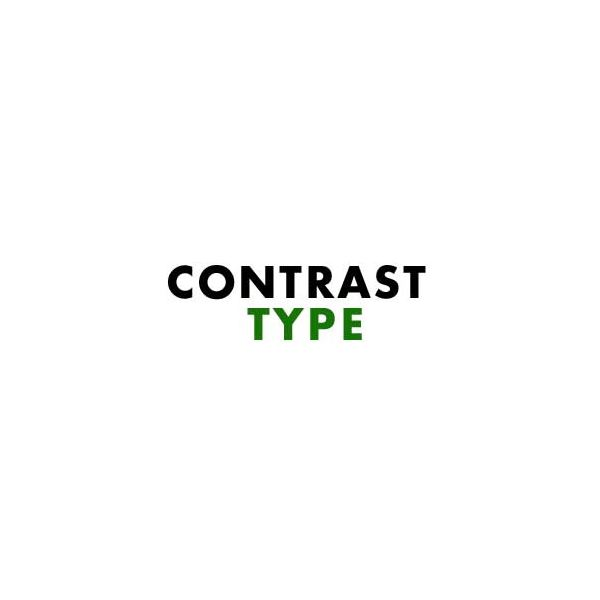 Different Fonts Also Create Contrast Designers Have Access To Hundreds