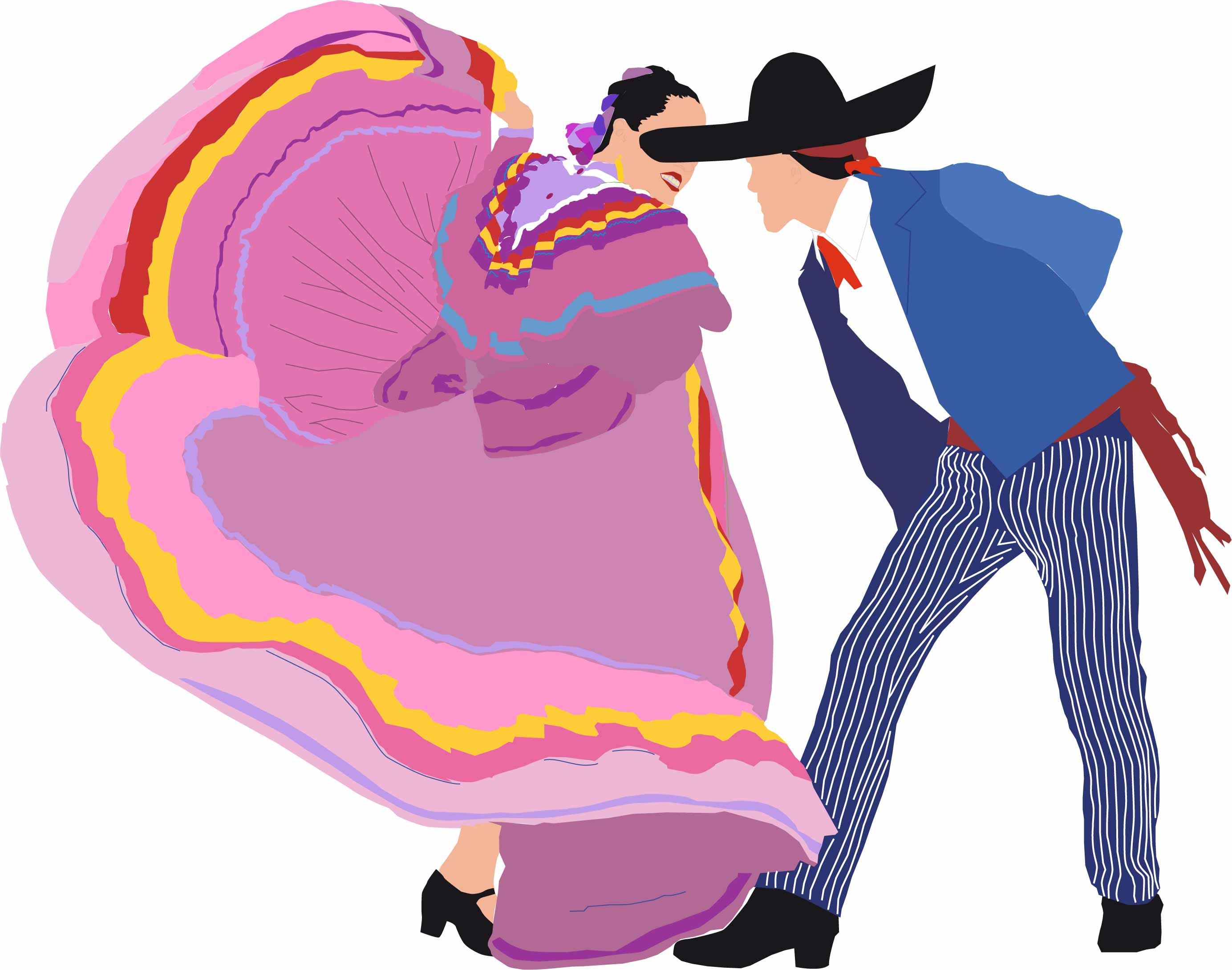 Mexican Dance Clipart - Clipart Kid