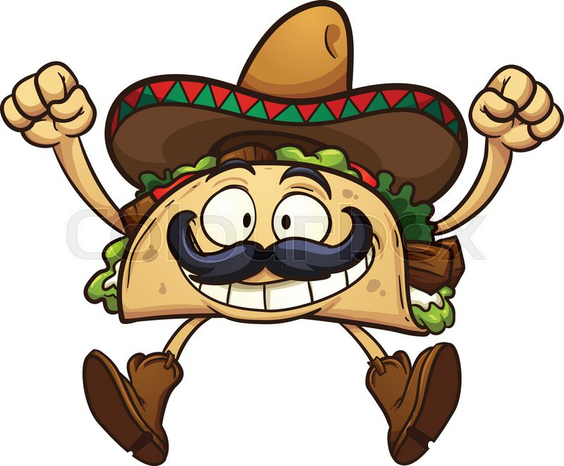 Animated Taco Clipart - Clipart Kid