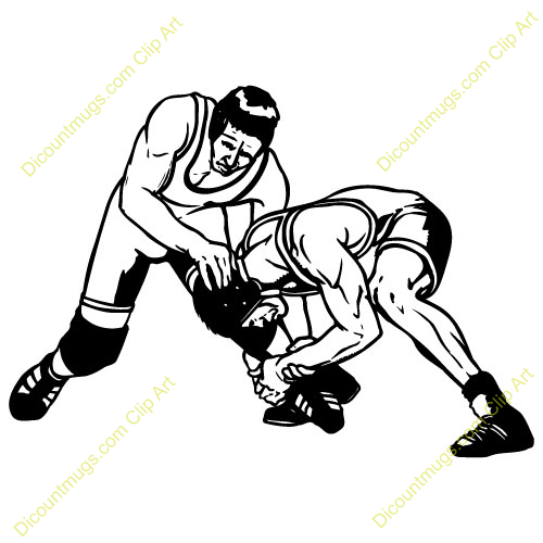 High-school Wrestling Clipart - Clipart Kid
