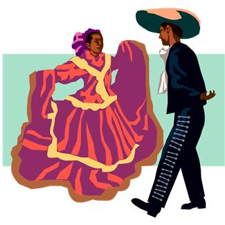 Mexican Dancers Clipart - Clipart Kid
