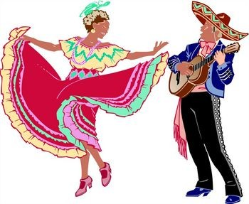 Mexican Folk Dance 112610  Vector Clip Art   Free Clipart Images